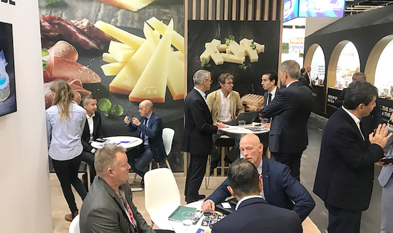 Mammen Cheese, flot messestand på Anuga FoodTec 2019, Køln