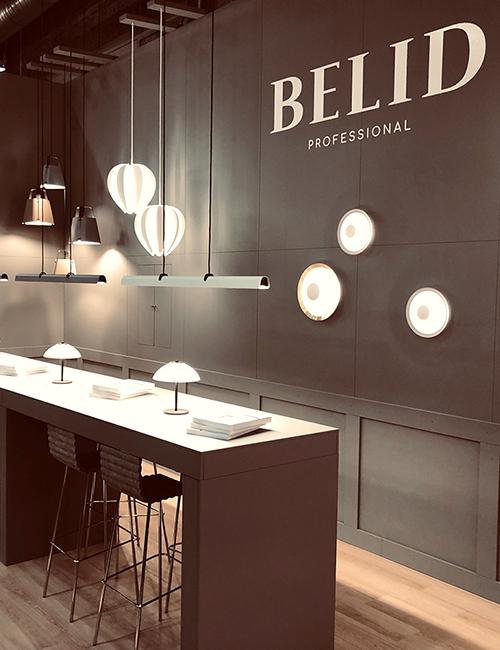 Flot messestand, Herstal - Belid, Stockholm Furniture & Light Fair 2019