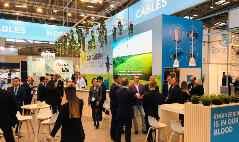 Messestand, ITW GSE, Inter Airport 2019, München