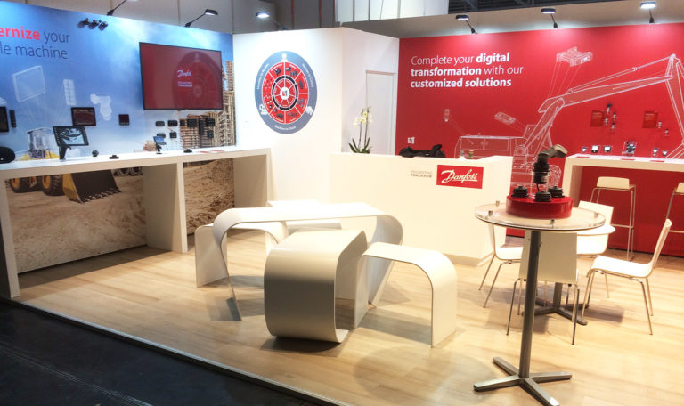 Danfoss messestand
