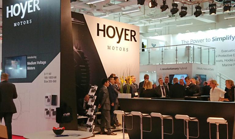 Individuel stand, Hoyer Motors, SMM 2018, Hamburg