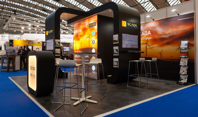 Scada messestand, Wind Europe 2017