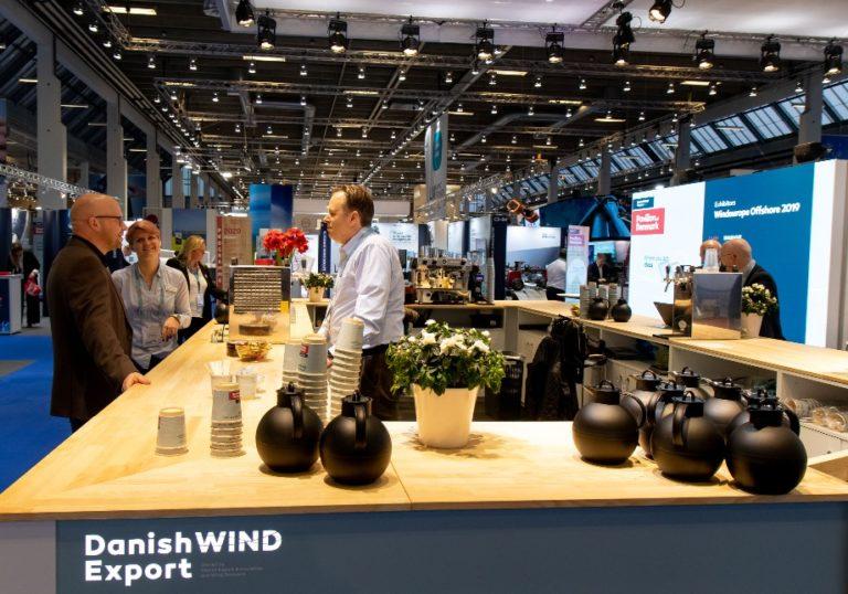 Danish Wind Export fællesstand, Wind Europe Offshore 2019, København