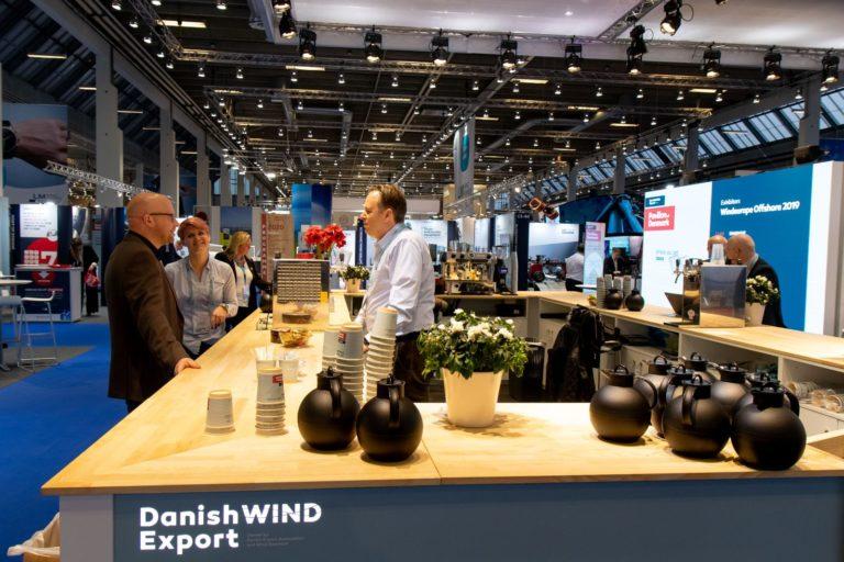 Wind Europe Offshore 2019, København, Fællesstand, Danish Wind Export