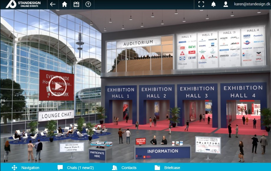 SMM Digital Virtual Pavilion of Denmark