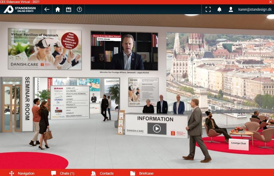 CEE ELDERCARE Virtual Export Drive 2021