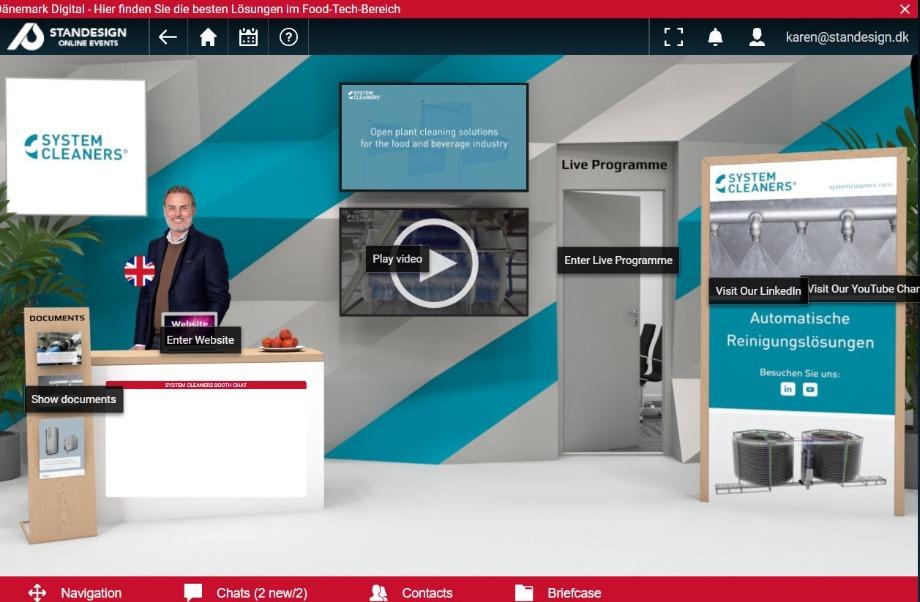 Dänemark Digital 2021_Systemcleaners_virtual_stand